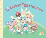 Book cover of 10 EASTER EGG HUNTERS