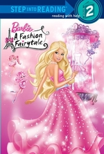 Book cover of BARBIE A FASHION FAIRYTALE