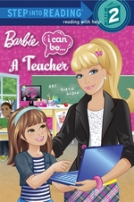 Book cover of BARBIE I CAN BE A TEACHER