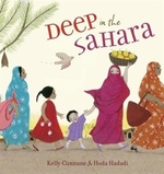Book cover of DEEP IN THE SAHARA