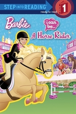 Book cover of BARBIE I CAN BE A HORSE RIDER