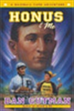 Book cover of HONUS & ME A BASEBALL CARD ADVENTURE