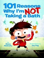 Book cover of 101 REASONS I'M NOT TAKING A BATH