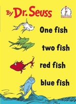 Book cover of 1 FISH 2 FISH RED FISH BLUE FISH