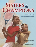 Book cover of SISTERS & CHAMPIONS THE STORY OF VENUS
