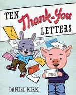Book cover of 10 THANK-YOU LETTERS