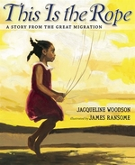 Book cover of THIS IS THE ROPE - STORY FROM THE GREAT