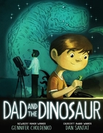 Book cover of DAD & THE DINOSAUR