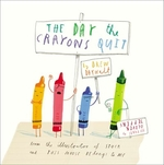 Book cover of DAY THE CRAYONS QUIT