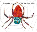 Book cover of VERY BUSY SPIDER OVERSIZED BOARD BOOK