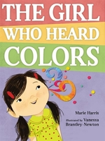 Book cover of GIRL WHO HEARD COLORS