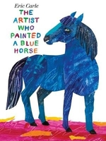 Book cover of ARTIST WHO PAINTED A BLUE HORSE
