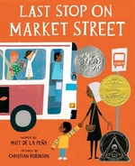 Book cover of LAST STOP ON MARKET STREET