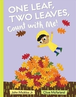 Book cover of 1 LEAF 2 LEAVES COUNT WITH ME