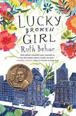 Book cover of LUCKY BROKEN GIRL