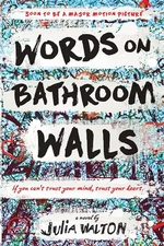 Book cover of WORDS ON BATHROOM WALLS