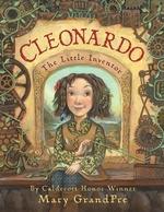 Book cover of CLEONARDO - LITTLE INVENTOR