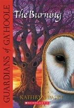 Book cover of GUARDIANS OF GA'HOOLE 06 BURNING