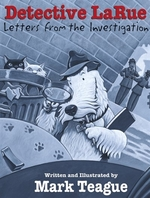 Book cover of DETECTIVE LARUE LETTERS FROM THE INVESTI