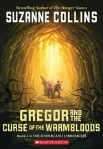 Book cover of GREGOR 03 & THE CURSE OF THE WARMBLOODS
