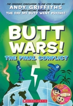 Book cover of BUTT WARS - THE FINAL CONFLICT