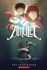 Book cover of AMULET 01 THE STONEKEEPER