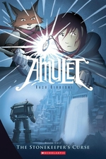Book cover of AMULET 02 STONEKEEPER'S CURSE