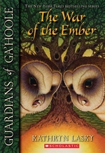 Book cover of GUARDIANS OF GA'HOOLE 15 WAR OF THE EMBE
