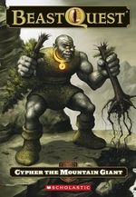 Book cover of BEAST QUEST 03 CYPHER THE MOUNTAIN GIANT