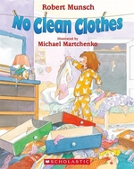Book cover of NO CLEAN CLOTHES