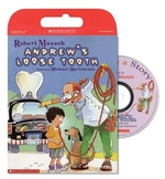 Book cover of ANDREW'S LOOSE TOOTH - BOOK CD