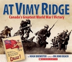 Book cover of AT VIMY RIDGE