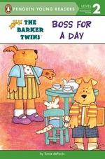 Book cover of BOSS FOR A DAY