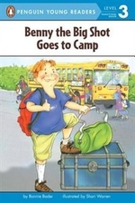 Book cover of BENNY THE BIG SHOT GOES TO CAMP