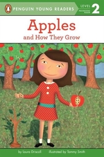 Book cover of APPLES & HOW THEY GROW