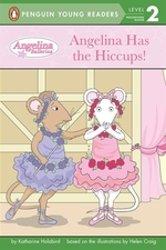 Book cover of ANGELINA HAS THE HICCUPS