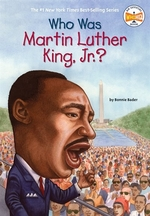 Book cover of WHO WAS MARTIN LUTHER KING