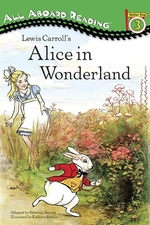 Book cover of LEWIS CARROLL'S ALICE IN WONDERLAND