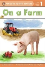 Book cover of ON A FARM