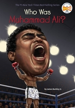 Book cover of WHO WAS MUHAMMAD ALI