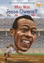 Book cover of WHO WAS JESSE OWENS