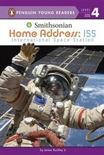 Book cover of HOME ADDRESS - ISS - INTERNATIONAL SPACE