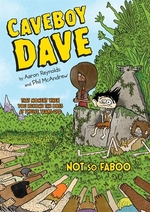 Book cover of CAVEBOY DAVE - NOT SO FABOO