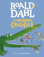 Book cover of ENORMOUS CROCODILE