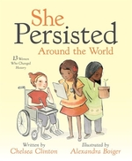 Book cover of SHE PERSISTED AROUND THE WORLD