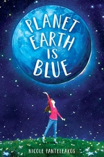 Book cover of PLANET EARTH IS BLUE