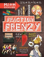 Book cover of FRACTION FRENZY - FRACTIONS & DECIMALS