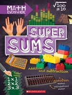 Book cover of SUPER SUMS - ADDITION SUBTRACTION MULTIP