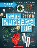 Book cover of YOUR NUMBER'S UP - DIGITS NUMBER LINES N