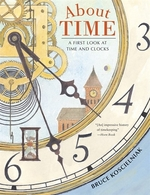Book cover of ABOUT TIME A 1ST LOOK AT TIME & CLOCKS